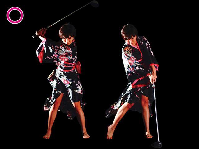 画像1: 左股関節を意識すると 振り遅れが消える
