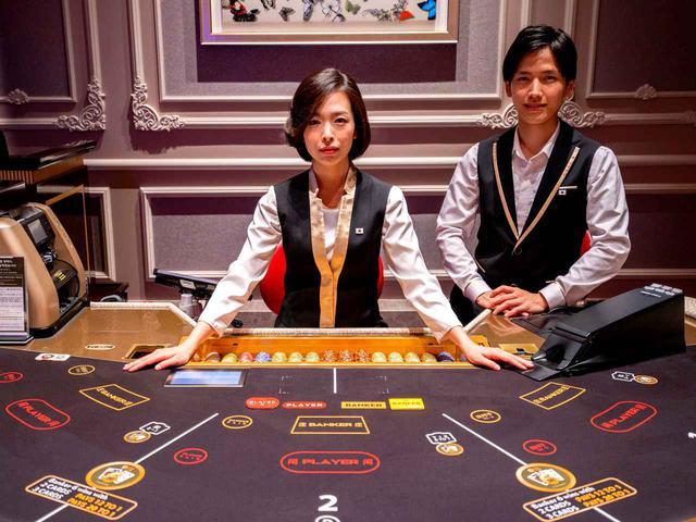 画像: カジノにも日本人スタッフ多数常駐しています