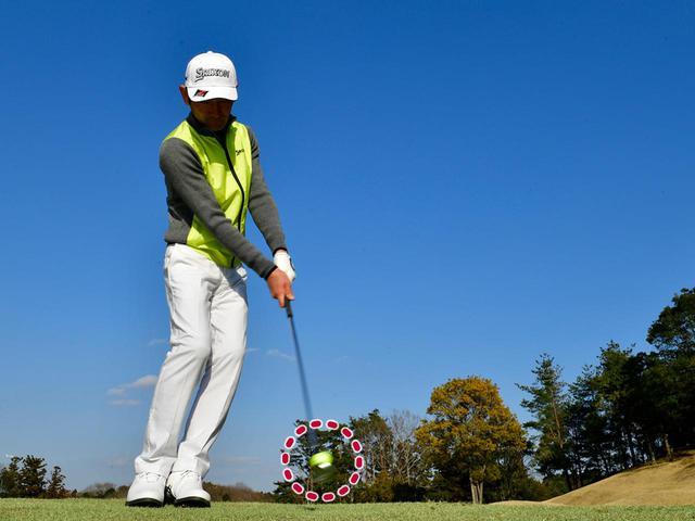 画像5: 【春ゴルフのアプローチ】芝が薄いこの時期は、フェースを返すのが正解です。誰でもできる100切りレッスン