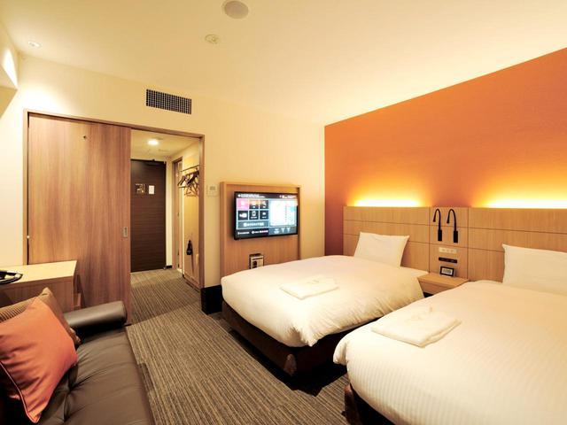 画像: 宿泊はすすきのにあるホテルネッツ札幌のスタンダードツインルーム