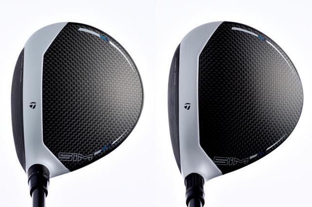 画像: 左が「SIM」、右が「SIM MAX」。形状はよく似ている。