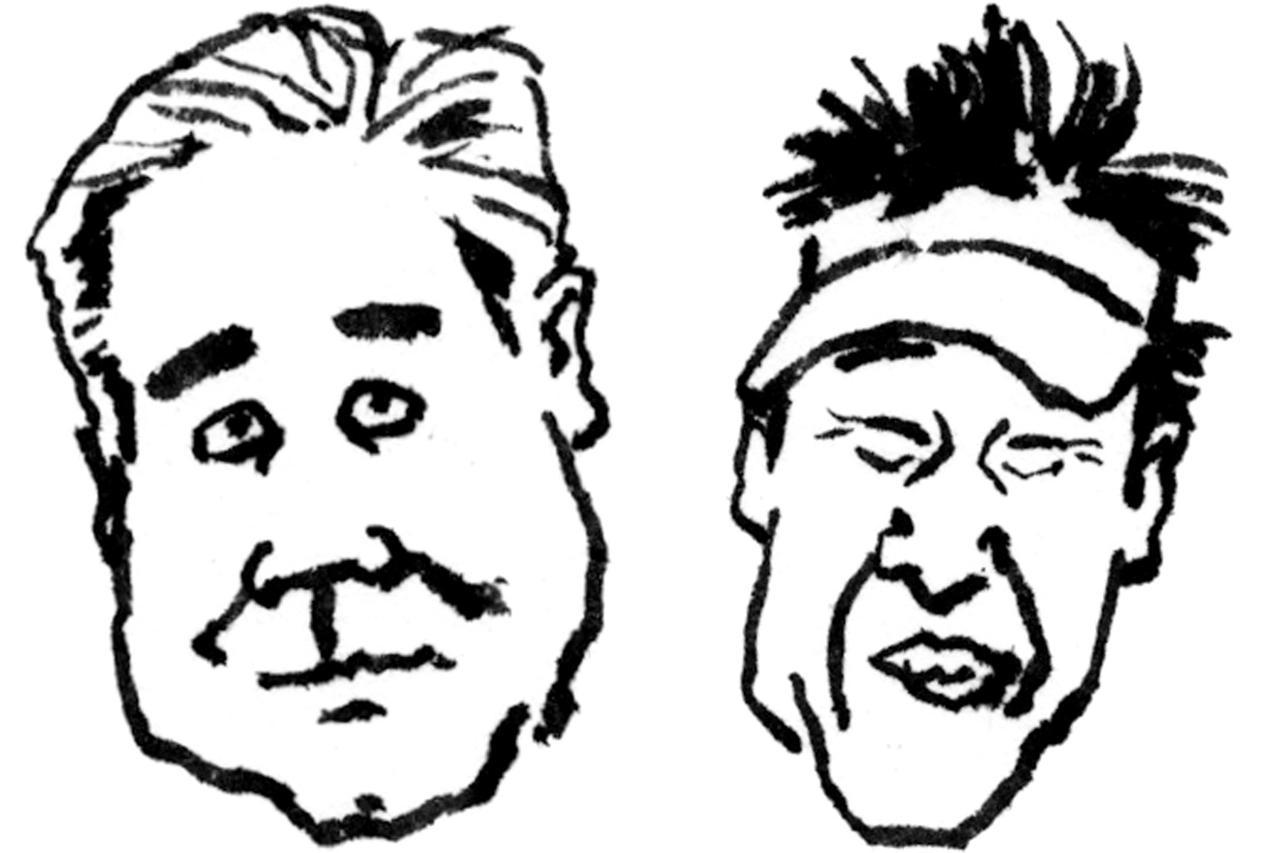 画像: 【通勤GD】海老原清治&奥田靖己 もう一花のゴルフVol.1 クラブヘッドを、どう入れるか ゴルフダイジェストWEB