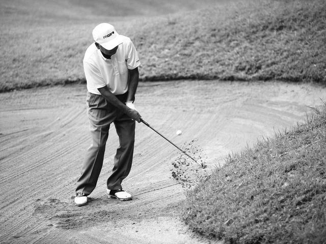 画像4: 【通勤GD】海老原清治&奥田靖己 もう一花のゴルフVol.4 とっておきの「1㍎バンカー」練習 ゴルフダイジェストWEB