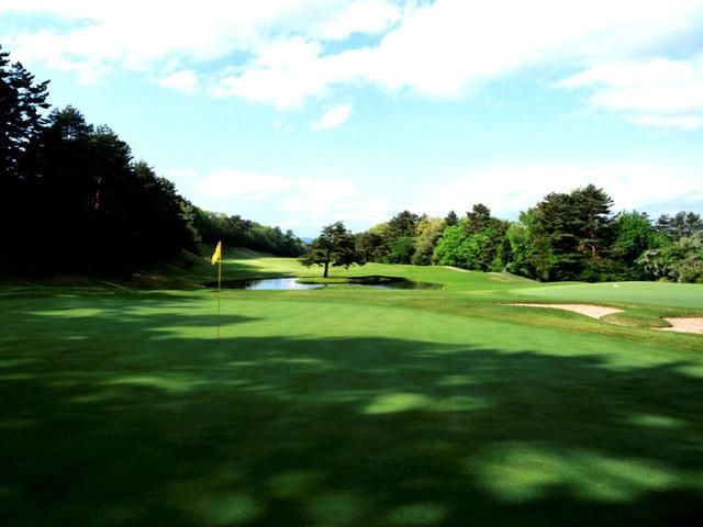 画像: 大山ゴルフクラブ 3番(543Y・P5)