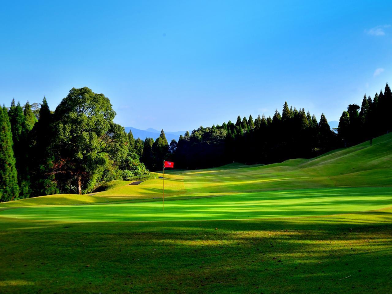 画像: 鹿児島高牧カントリークラブ 11番 距離が長いパー4
