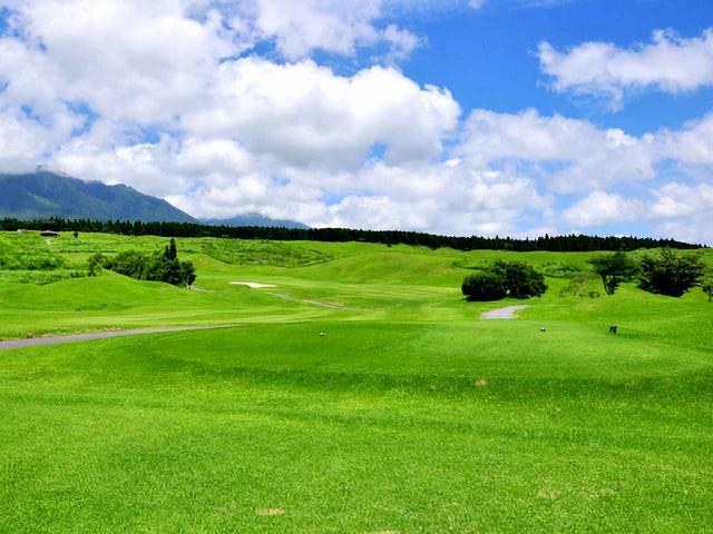 画像: 久住高原ゴルフ倶楽部 13番(400Y・P4)