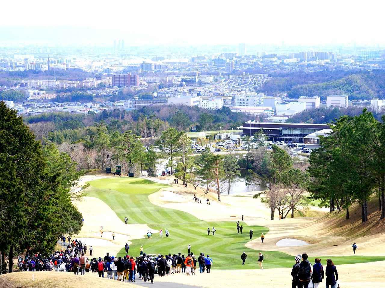 画像: 2019年のTポイント&ENEOSトーナメント。茨木国際ゴルフ倶楽部で開催され、上田桃子プロが優勝。今年は鹿児島高牧カントリークラブで開催予定だった