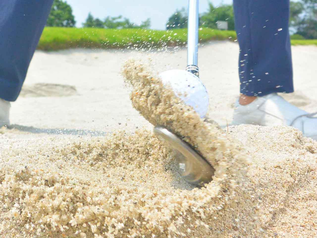 画像: バンカーショットと砂質別にサンドウェッジを大分類