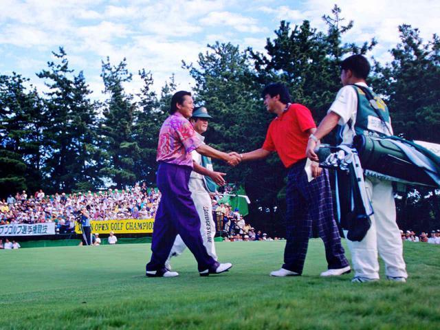 画像: 1994年の日本オープン、四日市カンツリー倶楽部。千両役者、ジャンボ尾崎が優勝。2位に加瀬秀樹