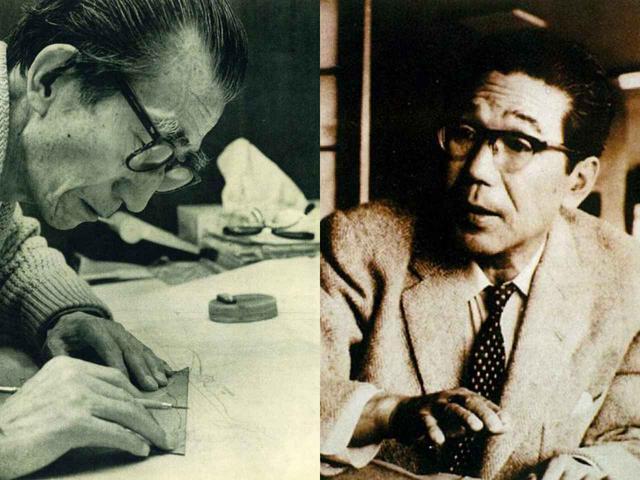 画像: 井上誠一(左)、上田治(右)