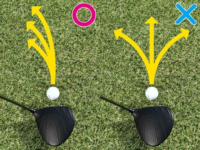 画像2: 【ティショット】真っすぐ打とうとするからミスがなくならない! ゴルフは曲げるが勝ち!
