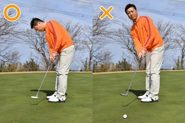 """画像6: 【パット上達】プロゴルファーみたいに""""パチン""""と打ちたいショートパット。「強気に真っすぐ」の境界線は何メートル?"""