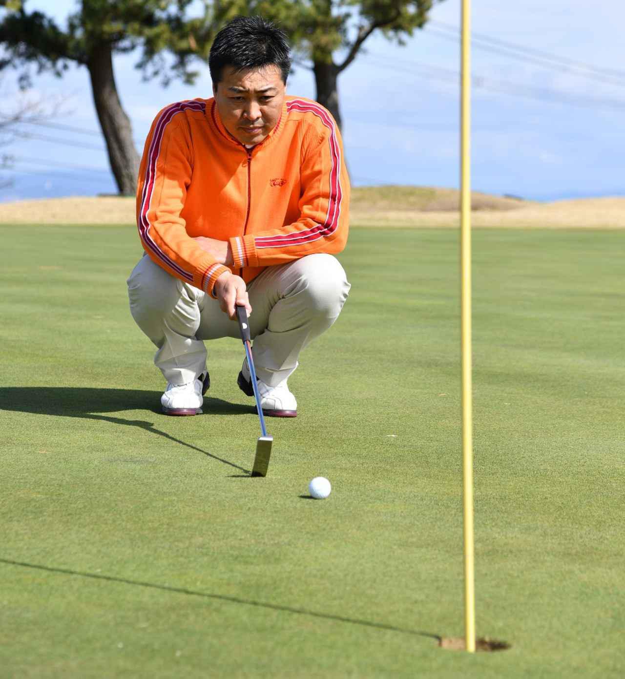 """画像3: 【パット上達】プロゴルファーみたいに""""パチン""""と打ちたいショートパット。「強気に真っすぐ」の境界線は何メートル?"""