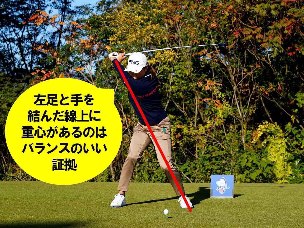 画像2: 【渋野日向子】小さな動きで最大パワーと最速スピード。これぞ令和のアスレチックスウィング!
