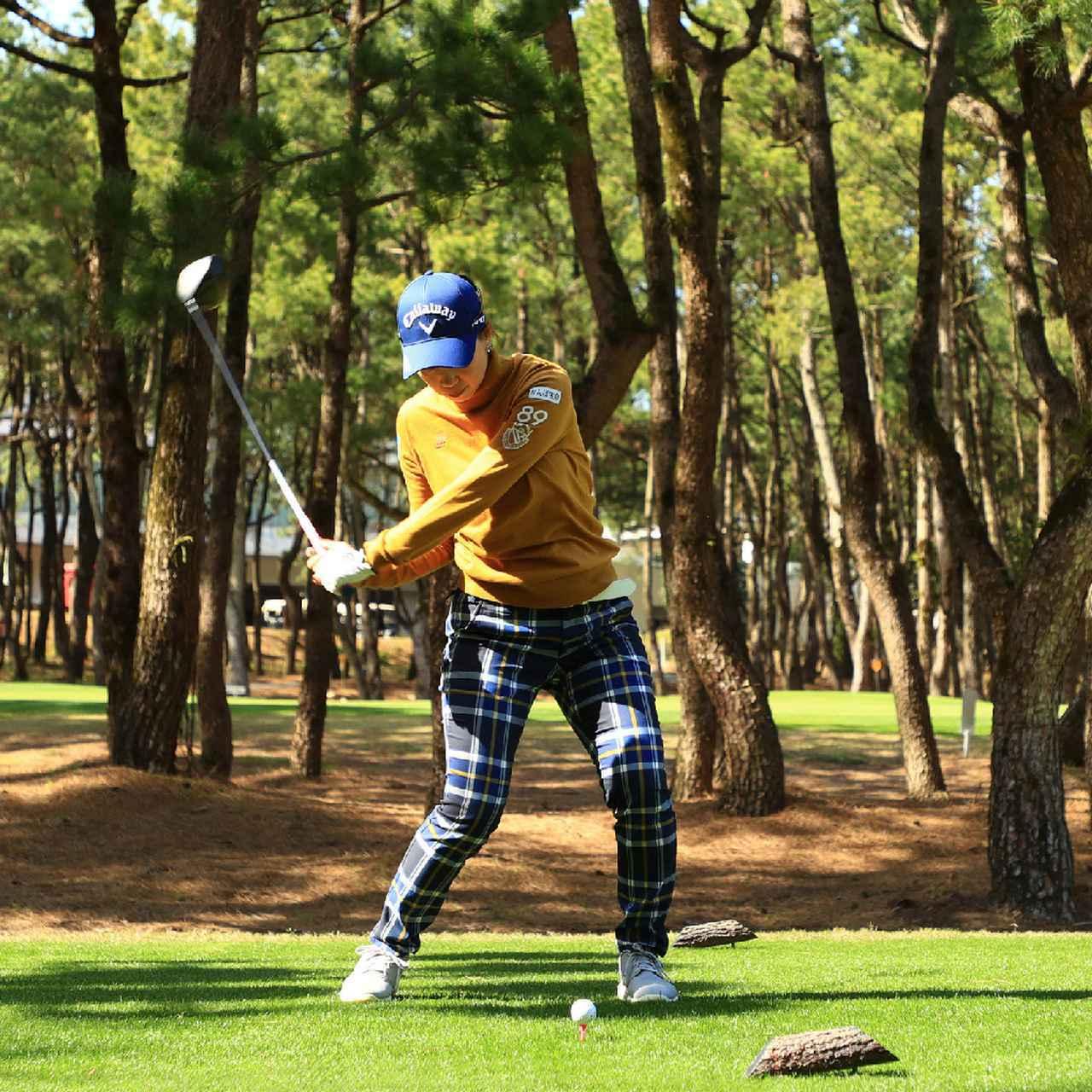 画像2: 【飛距離アップ】飛ばしに力は必要ない。女子プロゴルファーがこぞって集うチーム辻村明志「マン振りより飛ぶ八分目スウィング」