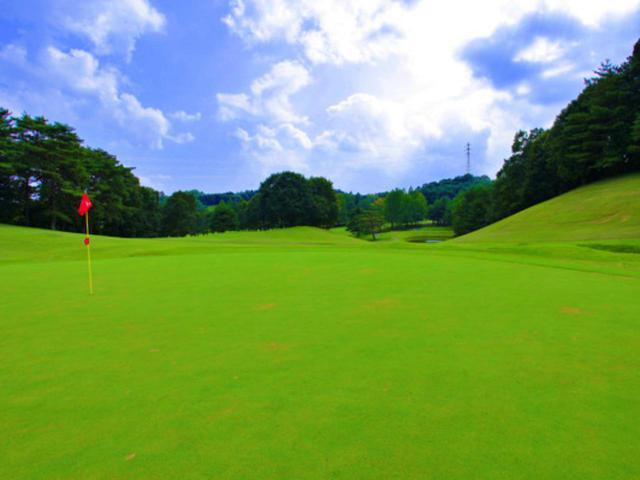 画像: 浅見ゴルフ倶楽部 6番/379Y/パー4(北)右ドッグレッグのホール