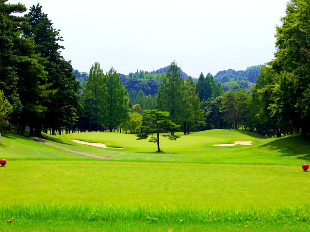 画像: 浅見ゴルフ倶楽部 3番/186Y/パー3(中)打ち下ろしでグリーンオーバーに注意
