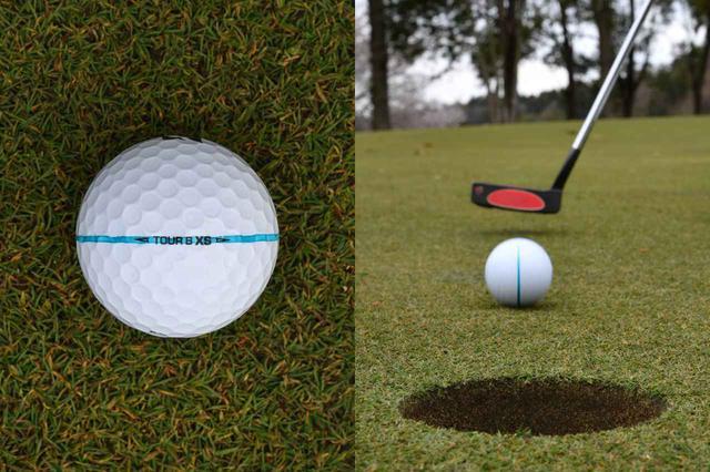 画像1: 【パット上達】ボールのラインに合わせる派が増えているが、果たして…。ボールにラインは必要、それとも?