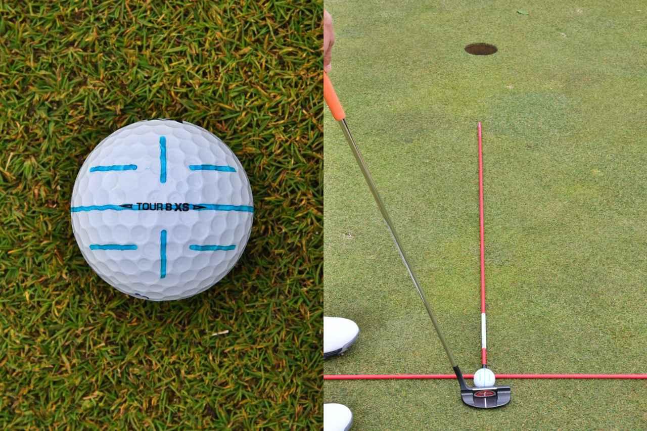 画像3: 【パット上達】ボールのラインに合わせる派が増えているが、果たして…。ボールにラインは必要、それとも?