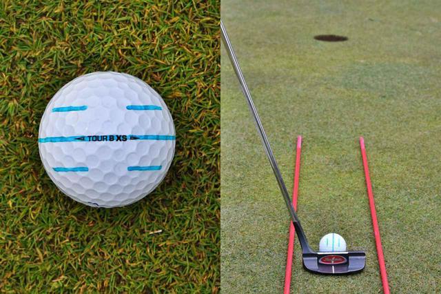 画像2: 【パット上達】ボールのラインに合わせる派が増えているが、果たして…。ボールにラインは必要、それとも?