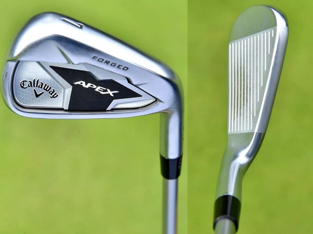 画像1: ヘッドは昨年と同モデル、APEXフォージド。シャフトをツアーADに替え、精度が上がった