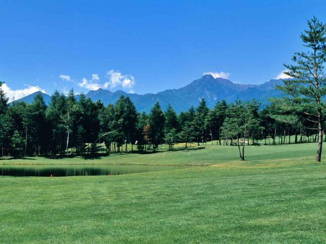 画像: 三井の森蓼科ゴルフ倶楽部 8番/222Y/パー3 公園のように美しいショートホール