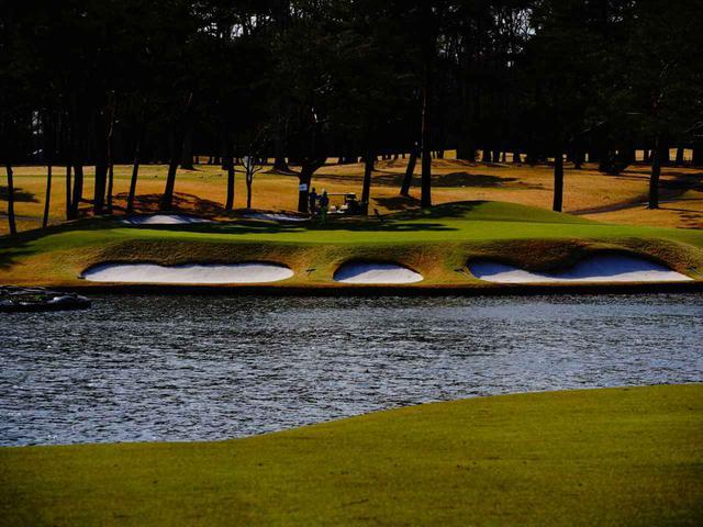 画像2: 太平等クラブ益子PGAコース 14番ホール(195Y・P3)