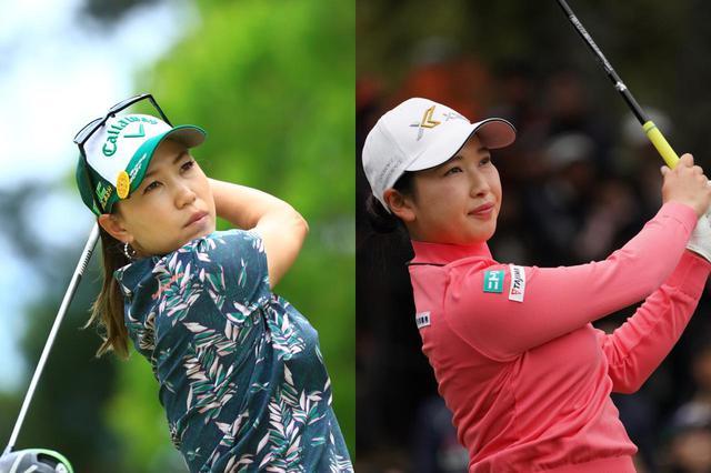 画像: 上田桃子(左)、小祝さくら(右)は導入を決定