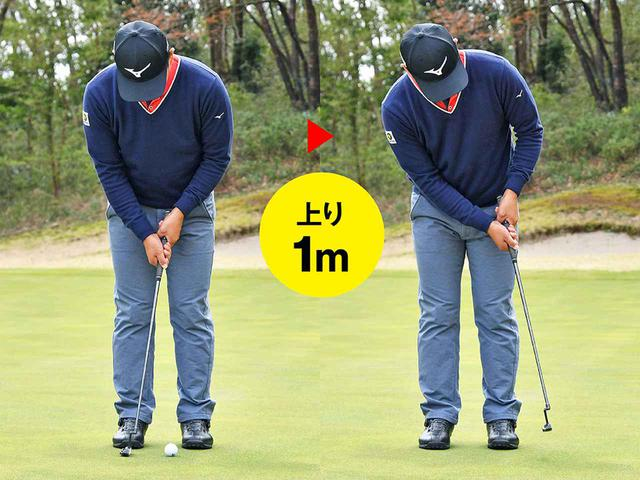 画像2: 打ち方のポイント④ 上りも下りも 打ち方はまったく同じ