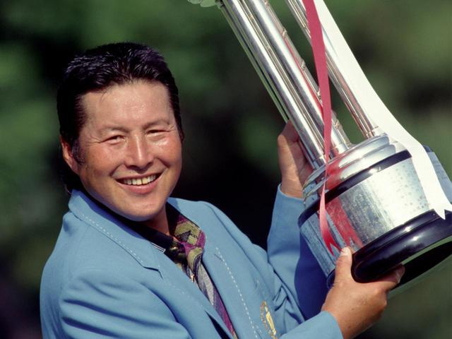 画像: 1997年 中日クラウンズ優勝時の尾崎将司