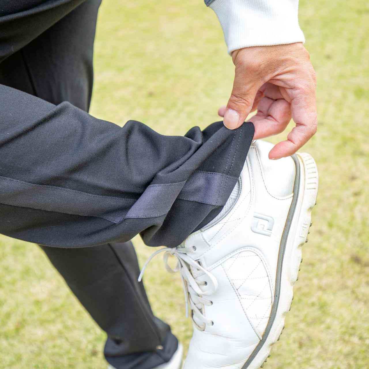 """画像: 【ゴルフウェア】機能もりだくさん! 人と被り知らずの""""優越ブルゾン"""" グレーと黒の2カラーをご用意"""