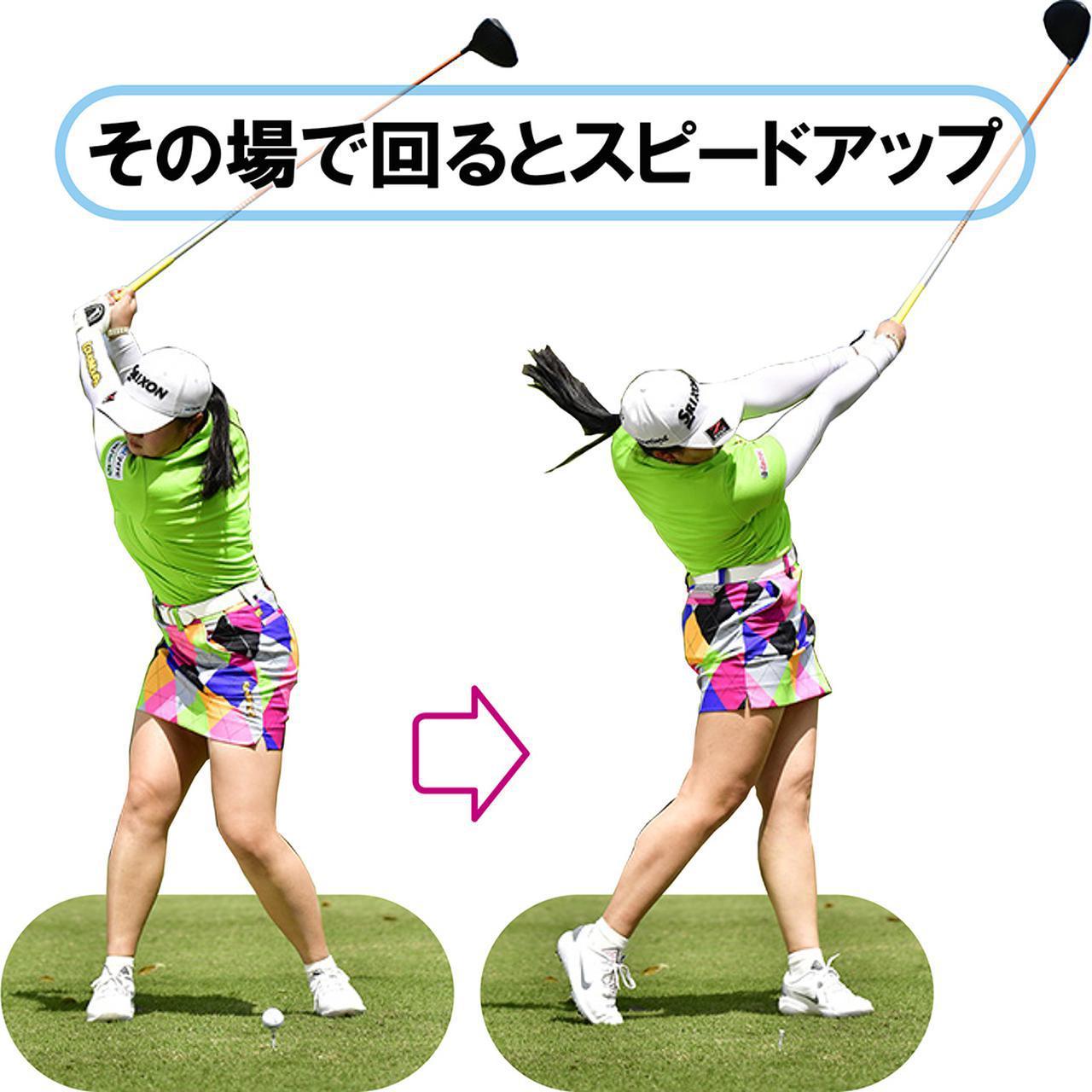 画像: 【気づき②】 体重移動よりその場で回転