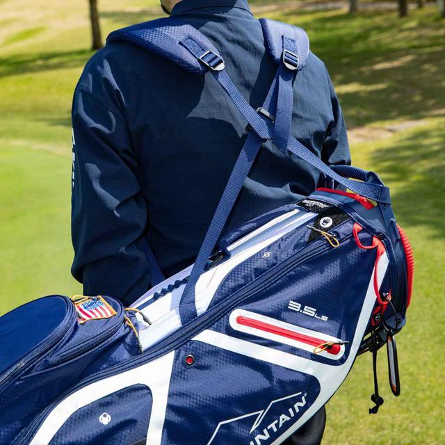画像: バッグの重心に合わせてバランスキープ