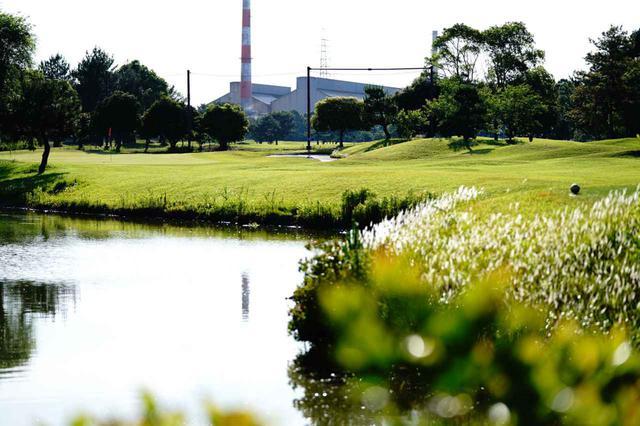 画像: 海沿い工業地帯にたたずむ 半田ゴルフリンクス