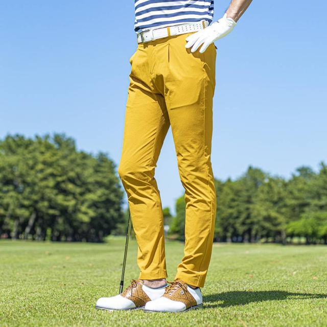 画像: 【大人のゴルフパンツ】スティレラビータ「コンフォートトラウザーズ」-ゴルフダイジェスト公式通販サイト「ゴルフポケット」