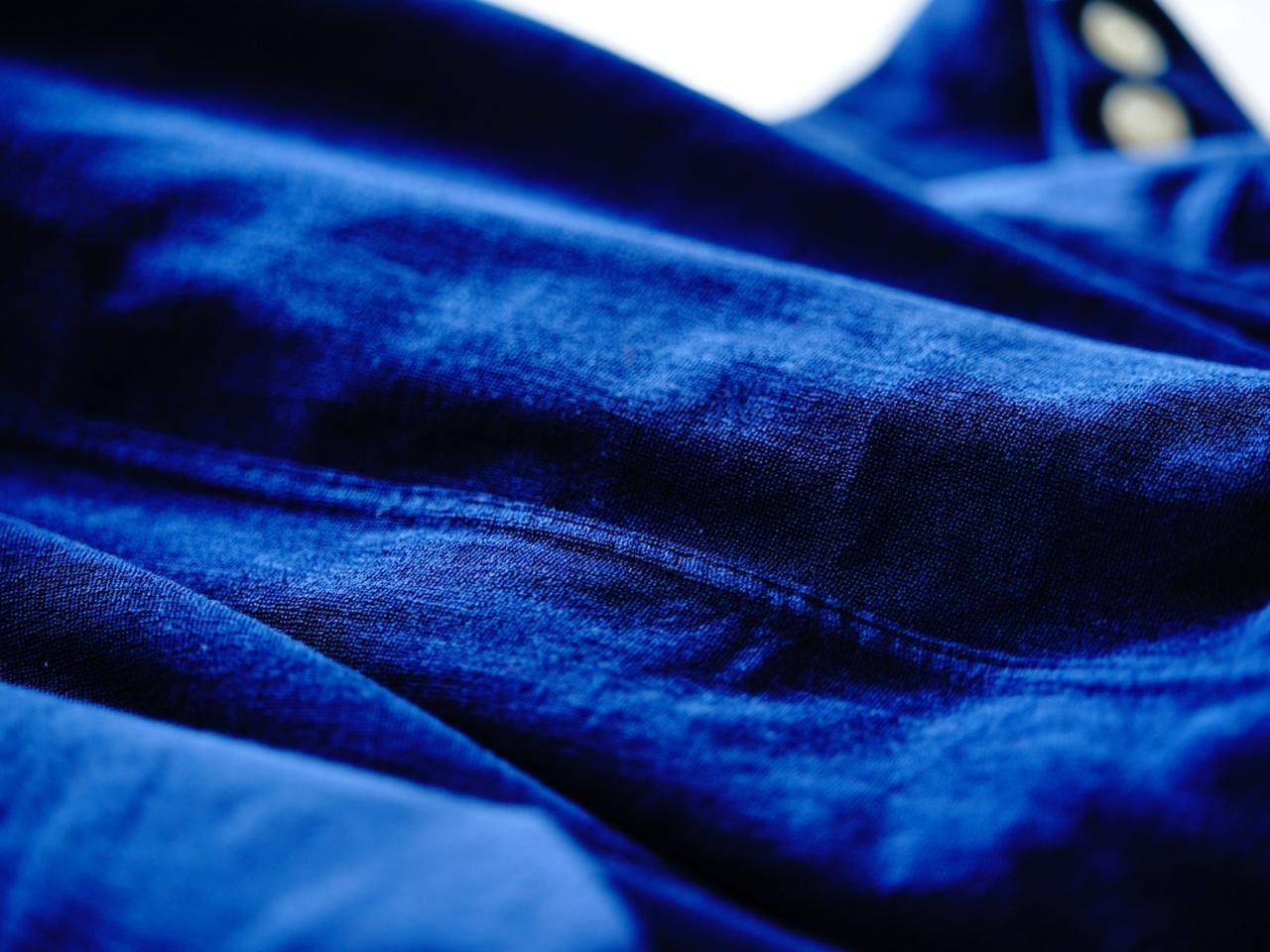 画像: 表地はやわらかく上質なコットンジャケットのよう。裏地は肌触りが良く吸水性に優れたいいパイル地です