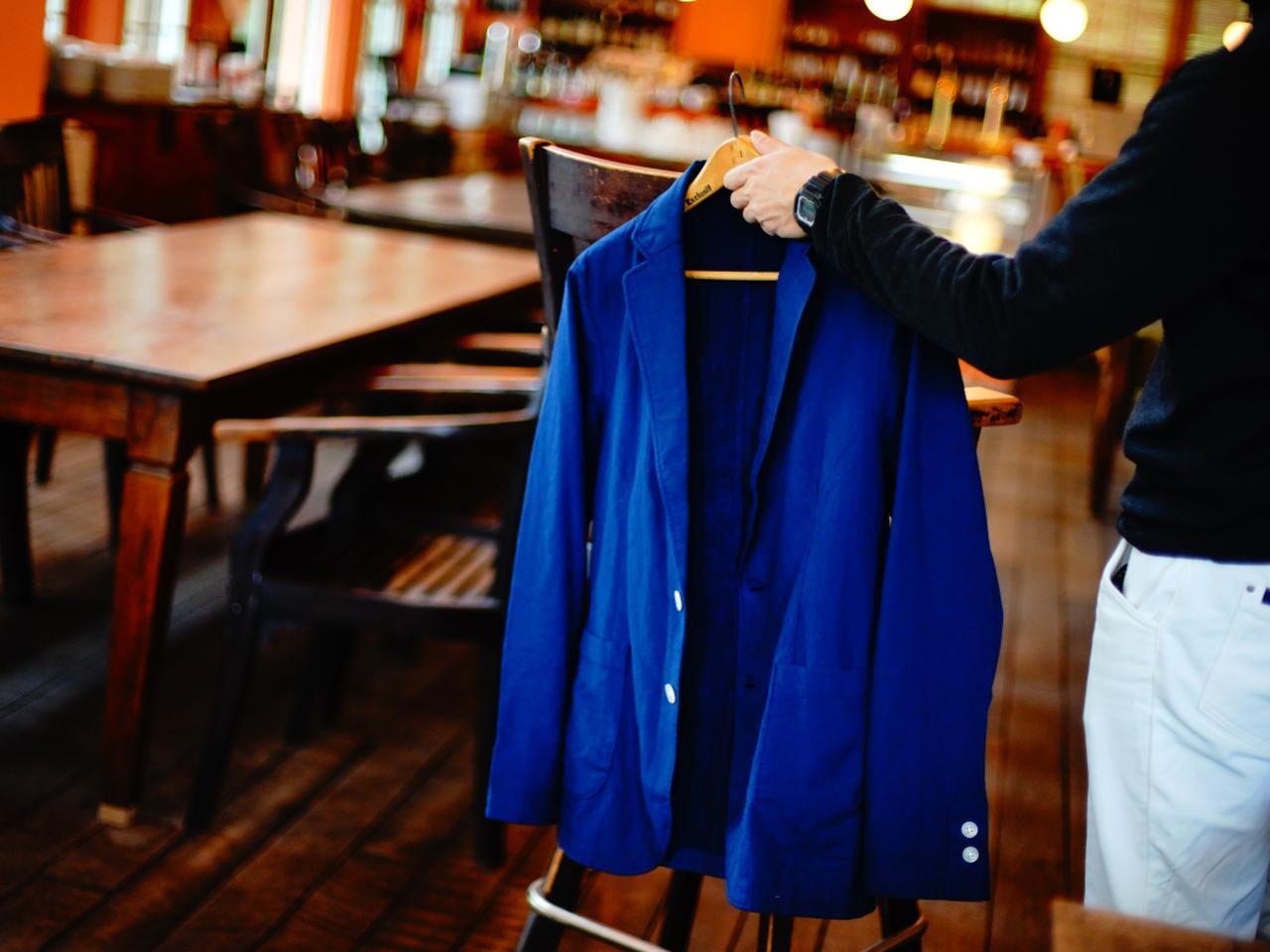 画像: 着るタオルは、高級タオルの代名詞「今治タオル」を生地に使用