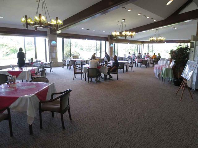 画像: 霞南ゴルフ倶楽部のレストラン(2階)