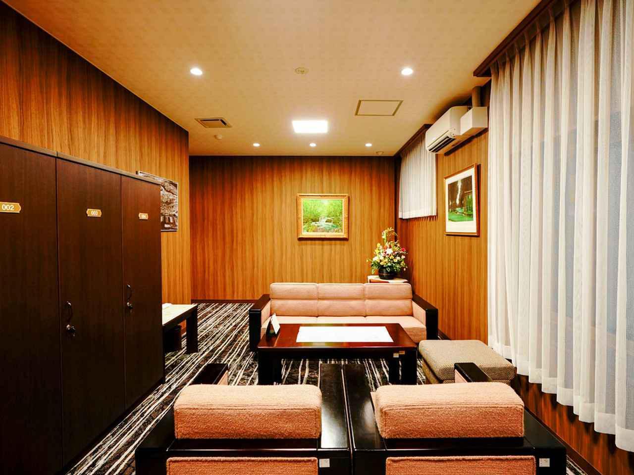 画像: VIP室
