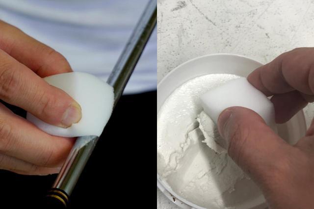 画像: クリームクレンザーはタレやすいのでペースト状がおすすめ