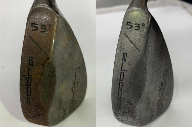 画像: 左が手入れ前、右が手入れ後。結果はご覧の通り。