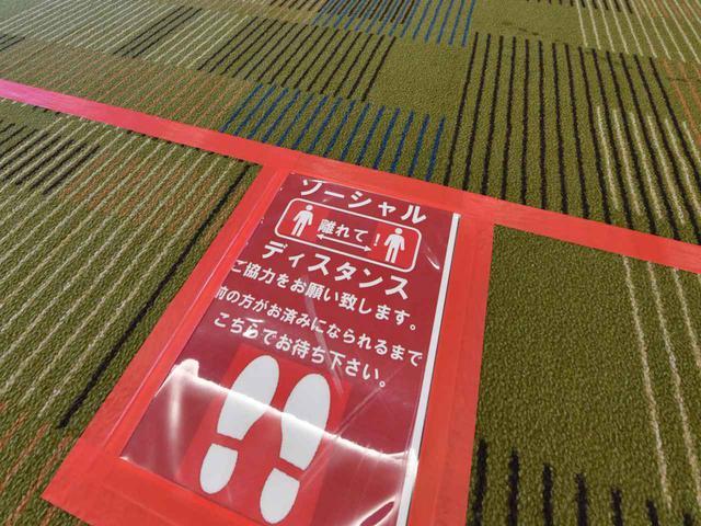 画像: 【コースのコロナ対策】ソーシャルディスタンス!