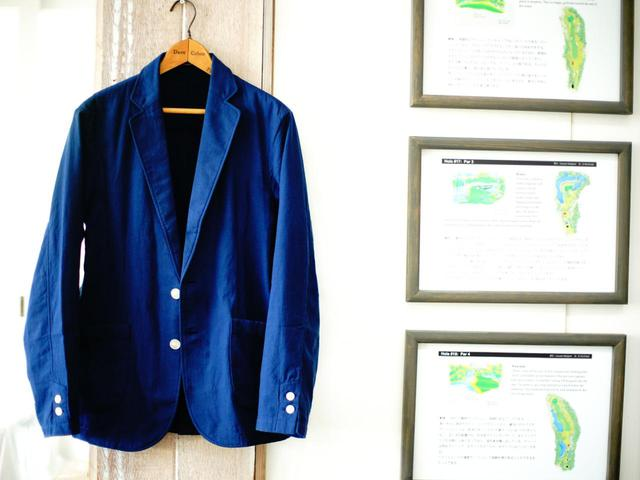 画像: 夏ゴルフのジャケットにおすすめ!軽くて涼しい今治タオル製ジャケット