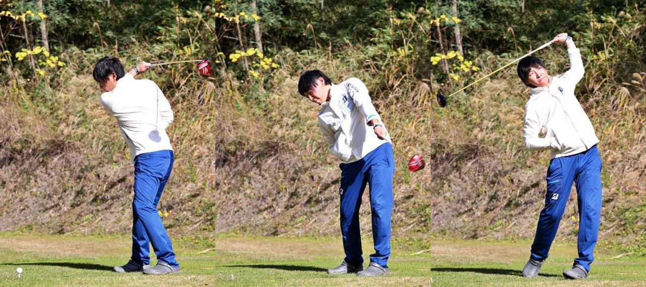 画像: 最初はゆっくりボールにヒットできるように。慣れてきたら振り幅を大きくしていくといいですよ