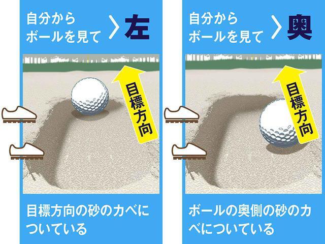 画像2: 足ならし跡 まずは状況判断