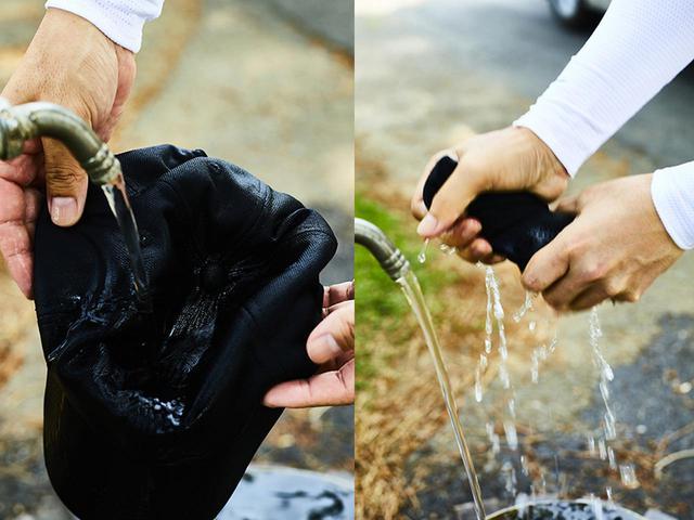 画像: 濡らして絞れば頭ヒンヤリ