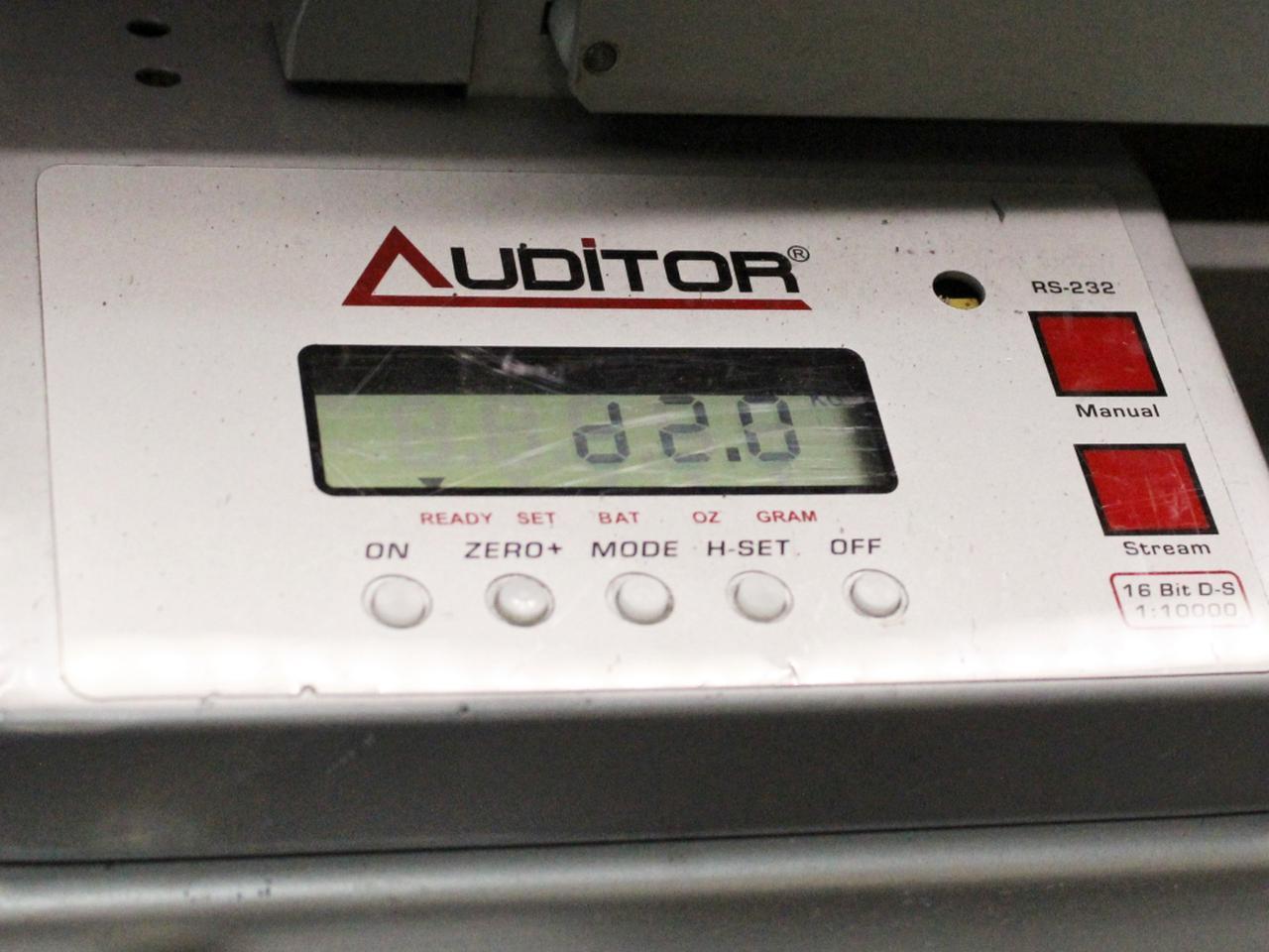 画像: シュリンクを外して計測すると、バランスは完璧にD2を表示