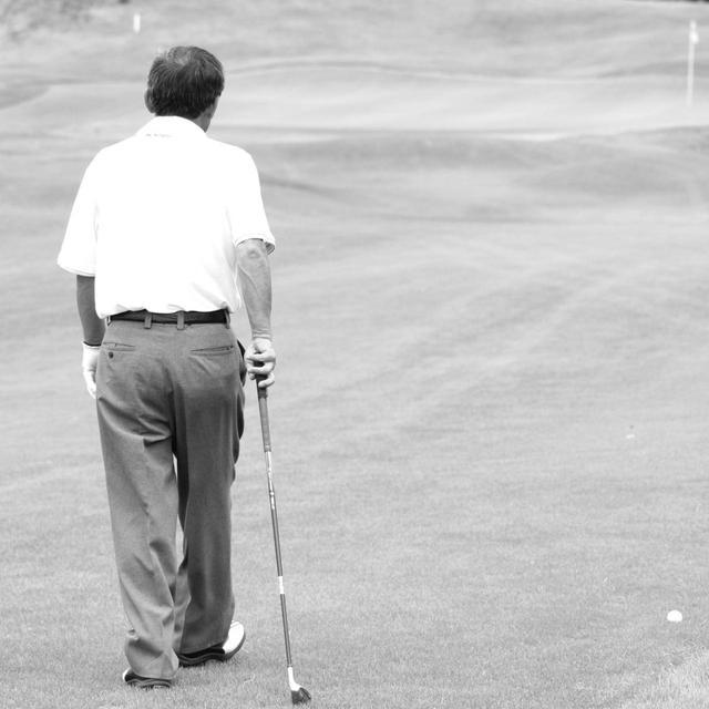 画像: 「ゴルフは歩けさえすればできる。だから犬みたいに気が付いたら伸びだけしとったらええ」(高松プロ)