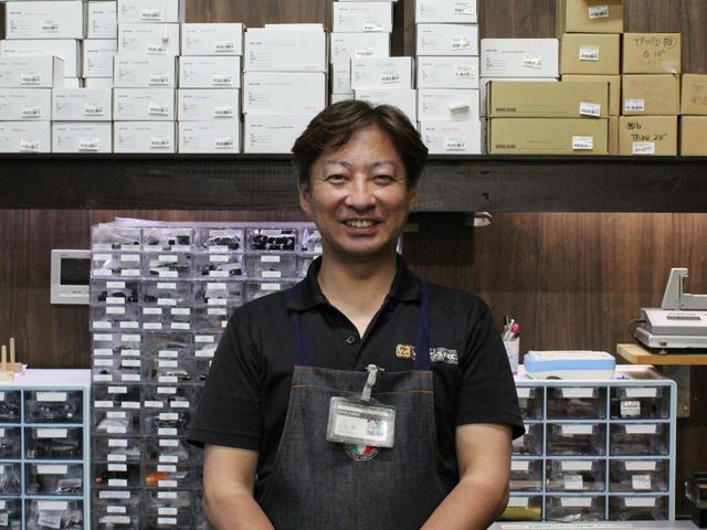 画像: シャフトはデラマックス一択の工房長・今井氏