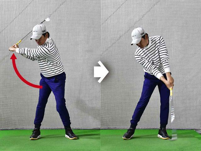 画像: 引っぱる動きは同じ量が増えるだけ